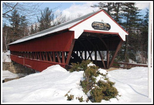 Swift River Covered Bridge, New Hampshire