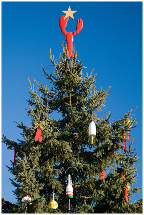 Lobster Buoy Christmas Tree, Kennebunk Port, Maine